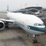 そしてキャセイパシフィック航空 CX542便で帰国