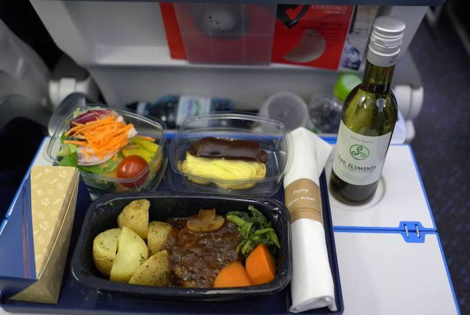KL0862便機内食