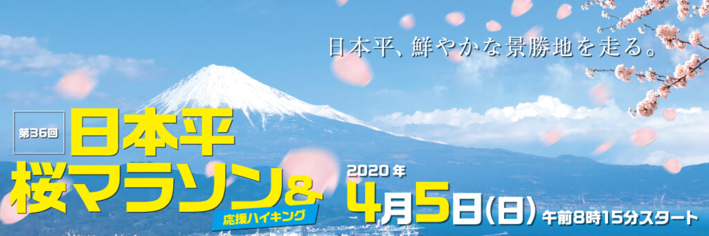 第36回日本平桜マラソン
